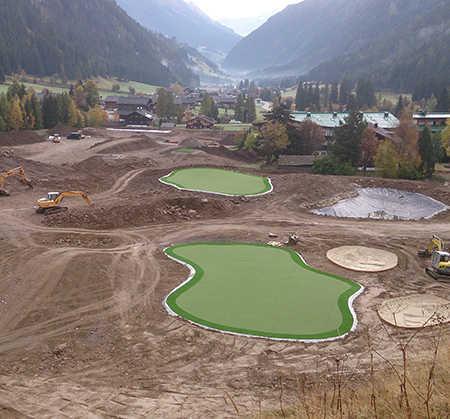 Myview Golf Court Construction
