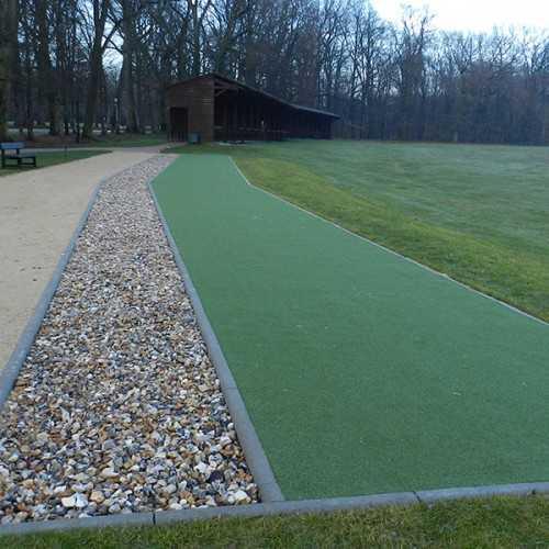Myview golf tee grass