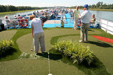 Myview Golf - golf on a ship